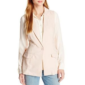 NWT Blush Open Back Tailored Casual Workwear Vest